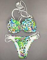 Cup B 40 80 2-tlg. Set 941902 in Malve//Hellmint Neu Push-up Bikini