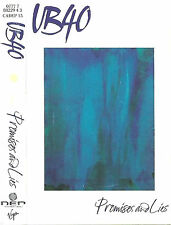 UB40 PROMISES AND LIES CASSETTE ALBUM Reggae-Pop Virgin /DEP International 1993