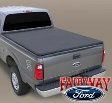 99 thru 16 Super Duty OEM Genuine Ford Soft Roll-Up Tonneau Bed Cover 6-3/4' NEW