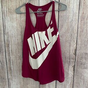 Nike Women's Size Medium Dri-Fit Racerback Athletic Running Tank Top