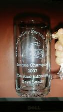 Fantasy Football Championship Trophy 25oz Glass Mug
