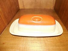 Mikasa ~ Ben Seibel ~ Potter's Art ~ Country Cabin ~ Covered Butter Dish