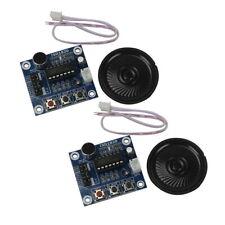 2 x ISD1820 Sound Voice Recording Playback Module Mic & Speaker Halloween prank