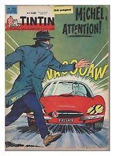 TINTIN N° 708  1962 BE-/BE  CT COUV GRATON