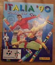 Panini WM 90 Sammelalbum WC 1990 KOMPLETT Album mit allen Sticker Stickeralbum