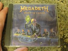 rust in peace MEGADETH death metal  cd combat early dave mustaine