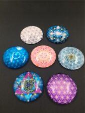 Epoxy Resin FLOWER OF LIFE METATRONS CUBE CHAKRAS STAR OF DAVID Crystal Healing