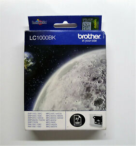 Original Brother LC1000BK LC1000 BK schwarz DCP-535CW DCP-770CW MFC-845CW 855CW