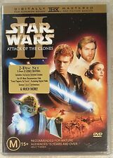 Star Wars Episode II - Attack Of The Clones (2 Discs) DVD GREAT condition (R4)
