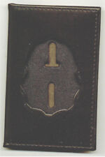 Drug Enforcement Administration DEA Badge Cut-Out Wallet to hold Dual ID Cards