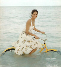J. Crew vintage ivory beige midi Lobster print Talitha sun dress 6