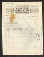 """CASTRES (81) USINE de BONNETERIE MERCERIE & CHAUSSURES """"Ets Armand SIGUIE"""" 1948"""