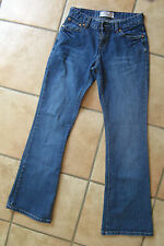 LOT 2 JEANS LEVI'S STRAUSS coupe 410 taille W27 L32 pour jeune fille /ado TBE