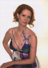 "Cynthia Nixon ""Sex And The City"" Autogramm signed 20x30 cm Bild"