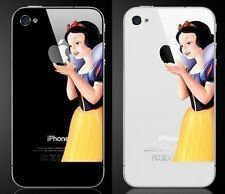 SNOW WHITE [Holding the Apple] Vinyl Sticker Decal Skin for iPhone 4/4s