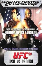 UFC 58 : USA vs. Canada DVD Franklin vs Loiseau - MINT