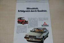202366) Mitsubishi Colt Lancer Galant Sapporo Prospekt 198?
