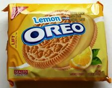 NEW Nabisco Oreo Lemon Flavor Creme Cookies FREE WORLDWIDE SHIPPING