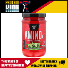 BSN AMINO X 435G 30 SERVE GREEN APPLE BCAA AMINOS RECOVERY INTRA WORKOUT BPI BSC