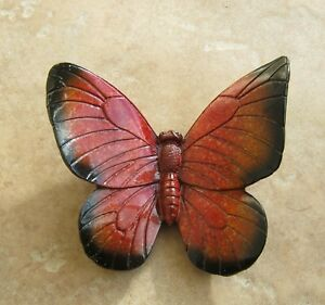 Beautiful Red Butterfly for wall mounting Garden or Home
