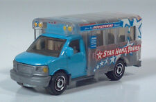 Matchbox Star Home Tours GMC Chevy Transport Glass School Bus 1:80 Scale Model