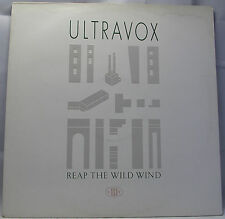 "ULTRAVOX - REEP THE WILD WIND Vinyl 12"" Single 45rpm Excellent"