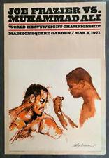 MUHAMMAD ALI-JOE FRAZIER I ORIGINAL POSTER (1971)