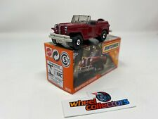 1948 Willys Jeepster * RED * NEW 2020 Matchbox POWER GRABS