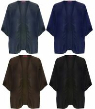 Polyester Waterfall Basic Jackets for Women