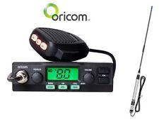 ORICOM UHF028 5 WATT 80 CHANNEL UHF RADIO+FIBREGLASS 6.5DB UHF ANTENNA ANU100 PK