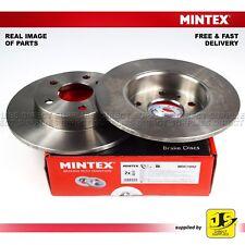 2X MINTEX REAR DISC BRAKES MDC1052 FOR VAUXHALL ASTRA COMBO CORSA MERIVA ZAFIRA