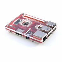 Red Acrylic Case for Raspberry Pi 3 Model B & B+ VaultPi