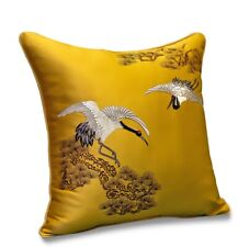 Modern Chinese Luxury Embroidery Cushion Cover Decorative Pillow Case The Pines