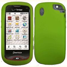 Silicone Skin Case for Pantech Hotshot 8992 - Green