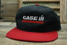 Vintage CASE IH Snapback Trucker Cap Hat SWINGSTER Made In USA