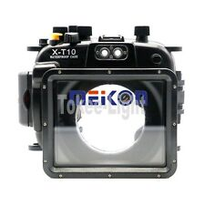 Meikon Underwater Waterproof Housing Case for Fujifilm Fuji X-T10 X-T10 16-50mm