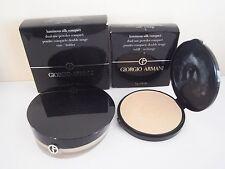 Giorgio Armani Luminous Silk Compact #3 refill with case and puff
