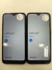 Lot of 2 Google Lock Samsung Galaxy A01 A015A At&T Check Imei Glc Ip-863