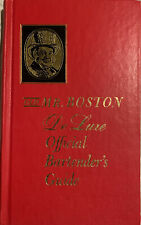 Vintage 1963 Old Mr.Boston De Luxe Offical Bartender's Guide