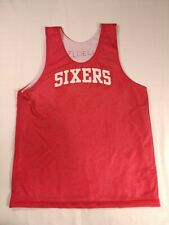 Sixers Basketball jersey #23 double sided warm up red white