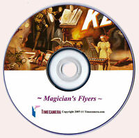 Home Business Making VINTAGE MAGICIAN PRINTS Restored Images DVD-Rom