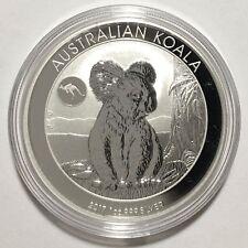 2017 1oz Australian 999 Silver Koala 10th Anniv (Kangaroo Privy) Coin Capsule BU