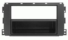 Mascherina con foro ISO/Doppio Iso/Doppio DIN colore nero Smart Fortwo  10
