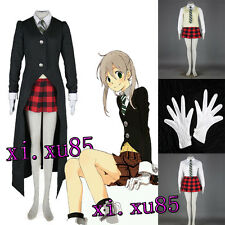 Pretty Soul Eater Maka Albarn Uniform Cosplay Costume Full Suit High Quality