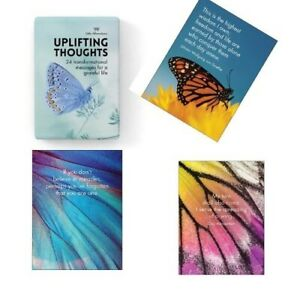 Positive Thoughts Affirmation Cards Uplifting Thoughts Inspirational Cards