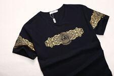 VERSACE (N E W) Men's T-shirt US Size-L Slim Fit