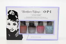 HRH25 - OPI Breakfast at Tiffany's 4 pc Mini Polish Lacquer .125 Fl. Oz.