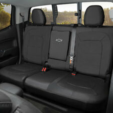 2015-2019 Colorado Crew Cab Fitted Seat Cover 23438868 Black w/ Armrest OEM GM
