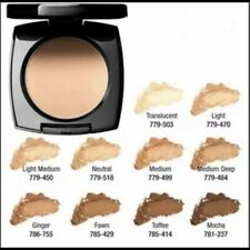 Avon True Color Pressed Powder Medium Deep Flawless Mattifying Discontinued
