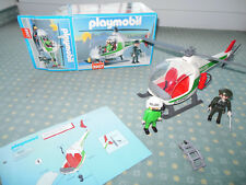 Playmobil 3907 Citylife Polizei Hubschrauber Pilot Polizistin